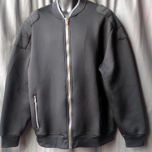 Sean John Zip Up Bomber Jacket - Black 2XL